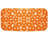 Gedy Margherita Bath Mat Zesty Orange 973572-P4
